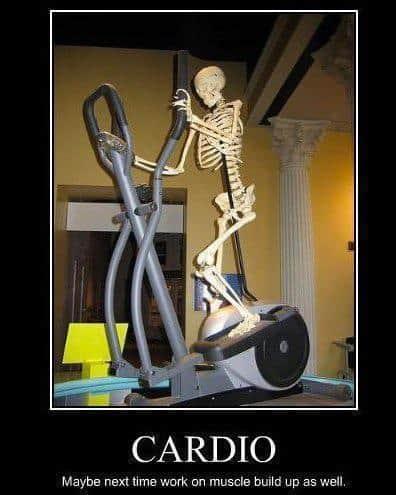 cardio skeleton