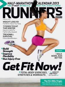 runner's world cover feb 2013