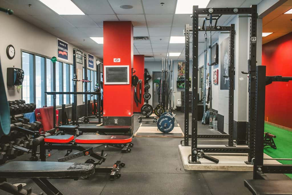 personal training gym st. john's