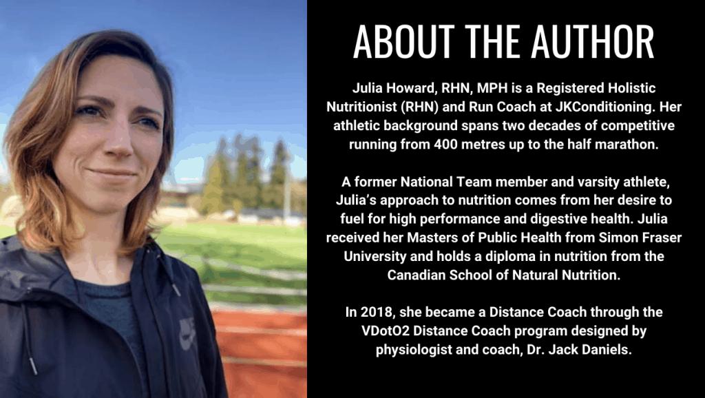 Julia Howard of JKConditioning